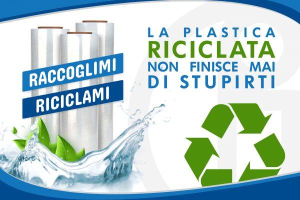 La plastica riciclata non finisce mai di stupirti!
